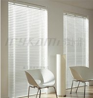 Wholesale Wood Blinds Horizontal - Wholesale-FREE SHIPPING ! WOOD WOODEN VENETIAN BLINDS REAL WOOD-- MADE TO MEASURE 5CM & 3.5CM WIDTH SLATS