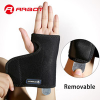 Wholesale Brace Splint - Arbot Training Sports Splint Wristband Thumb Support Weightlifting Wrist Protector Hand Brace Guards for Gym Outdoors