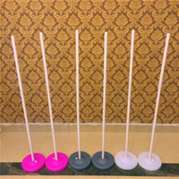 Wholesale Arch Stand - Upright Stand Balloon Column Base & Stick Balloon Arch Columns Wedding Decorations Party Supplies Props Free Shipping ZA4178