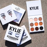 Wholesale Matte Eyeshadow Naked - Kylie Cosmetics Jenner Kyshadow eye shadow Kit Eyeshadow BRONZE and BURGUNDY Palette Preorder Cosmetic 9 Colors naked kkw tarte beauty