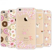 Wholesale phones cases for iphone 5c for sale – best Free DHL Rainbow Color Food Donuts Macaron Phone Cases For iphone plus S S SE C Plus SPlus Pizza Cover For iphone Case
