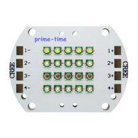 Wholesale Cree Xpe Grow Light - Wholesale- Cree XPE XP-E RGBW Led Emitter Light 4 Channel 12Leds White 6000K Green 520NM Red 620NM Blue 470NM DIY Plant Grow Led Light