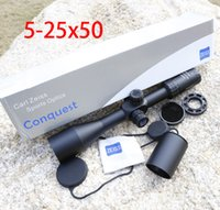Wholesale Snipers Rifle Scope - Carl Zeiss 5-25X50 FFP Optics Riflescope Side Parallax Tactical Hunting Scopes Rifle Scope Mounts For Airsoft Sniper Rifle