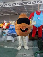 Wholesale Coffee Beans Customs - chocolate beans mascot costume free shipping, cheap high quality carnival party Fancy plush walking Coffee beans mascot adult size.
