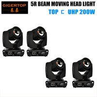 Wholesale Platinum Beam - Hot Selling 200W Beam Moving Head Light Platinum 5R Beam 17 Static Gobos 14 Color Linear Dimming Beam Effect IP20 Waterproof