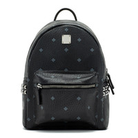 Wholesale Travel Bag Red Women - 2017 Top brand new arrival Fashion punk rivet backpack school bag unisex backpack travel STARK BACKPACK DHL free shipping