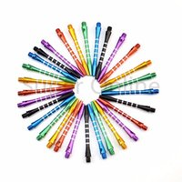 Wholesale 6 Colors Aluminum Medium Darts Shafts Harrows Dart Stems Throwing Toy New Needle Darts Shafts