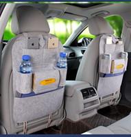 Wholesale Seat Back Storage Bags - New Hot Car Seat Hanging Bag Organizer Auto Seat Back Organizer Pocket Travel Hanging Storage Bag
