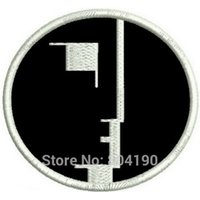 Wholesale Rock Band Patches - BAUHAUS ROCK POST PUNK GOTH SIOUXSIE THE BANSHEES Music Band EMBROIDERED IRON On Patch APPLIQUE Rock Punk Badge