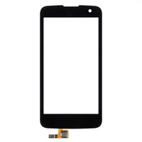 Wholesale Touch Screen Phone Replacement Glass - AAA HH Touch Screen For LG K4 K120 K121 K130 K130E Mobile Phone Touch Panel Sensor Digitizer Replacement Glass 1pcs
