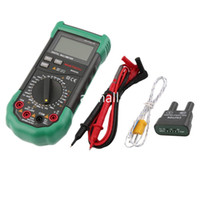 multímetro digital de rango automático al por mayor-Freeshipping Digital Auto Ranging Multimeter DMM Test Capacitancia Frecuencia