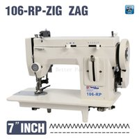 Wholesale 106 RPZ fur leather fell clothes thicken sewing machine Thick material sewing machine reverse stich and ZIG ZAG function