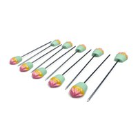 Wholesale Stick Spikes - Cupcake Cake Tester Stainless Probe Skewer Spike Cheack Stick Baking Tool wholesale free shipping good quality