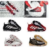 Wholesale Mens Boots Cheapest - Cheapest!!! Ace Men's Football Boots FG Mens Soccer Shoes Man Sneakers Soccer Cleats Sports Shoes Soccer Boots Training Shoes Football Boots