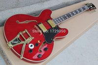 Wholesale Es Custom Guitar - Best Price China guitar factory custom 100% Top Quality New ES-355 TDSV varitone switch - Stereo 1960   Cherry red   Guitar 15
