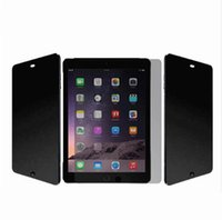 7.9 180 360 градусов планшетного ПК Privacy Filter Screen Protector для iPad mini 1/2/3/4 9,7 для iPad Air 1 / iPad Air 2 / Aro 12.9 iPad Air Aro