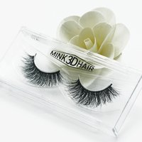 Wholesale Eyelashes Best Selling - Best selling! 3D Mink False Eyelashes makeup 100% Real Mink Natural Thick crisscross Full Strip Eye Lashes Women Beauty hand made A11 kind
