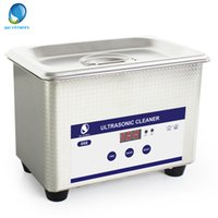 Wholesale Ultrasonic Cleaner Skymen - Skymen Stainless Industry Ultrasonic Jewelry Cleaner Bath for Home Use Cleaning Eyeglasses Watches Rings Necklaces JP-008 0.8L 35W 42kHz