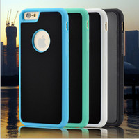 Wholesale Iphone Case Hottest - 2017 hot selling anti-gravity tpu+pc self protection nano adsorption anti-fall wall glass holder for samsung s8 plus note 8 IP 7 7plus
