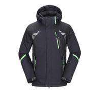 Wholesale Mens Winter Snow Coats - Wholesale- Mens Ski Jackets 2016 Ski Jacket Men Snowboard Winter Mountain Skiing Clothes Winter Coat Snow Waterproof Camping Outdoor Brand