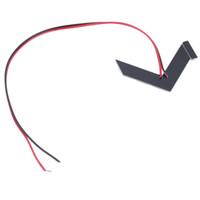 espejos indicadores al por mayor-1x 14SMD Panel de flecha LED para luz trasera de indicador de espejo retrovisor de automóvil