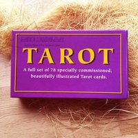Atacado- 78 Cards Set Waite Tarot Cards, Special Commissioned Tarot Decks Creative Paper Cartas Del Tarot