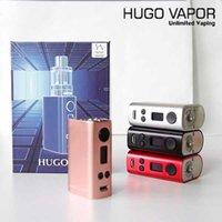 Wholesale Electronic Cigarette Mod Mech - Authentic HUGO58 TC Mechanical Mod Box Kit HUGO VAPOR 58W TEMP Ti Ni SS MECH Mode Starter Kit Vaporizer Electronic Cigarette Vape