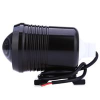lambalar flaş ampuller toptan satış-Motosiklet Far U2 1200LM 30 W Yüksek Düşük Flaş LED Sürüş Sis Spot Başkanı Ampul Işık Lambası Far