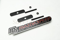 Wholesale Grill Doors - Luxury Car Front Body Grill Grilles MS MazdaSpeed Great Metal Badge Emblem