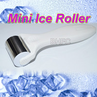 Wholesale Head Eyes Massager - New Eye Ice Roller Facial Stainless Head Skin Cooling Wrinkles Puffy cooler Mini Cold Therapy Massager