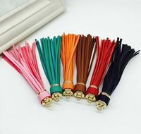 Wholesale Leather Tassels for Jewelry CM Mix Colors Tassels Charm for Handbag Keychain Cellphone Straps Handmade Leather Tassels DIY Jewelry Finding