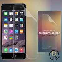 Wholesale Note3 Screen Guard - Frosted Matte Anti Glare LCD Screen Protector Screen Guard Film for iphone 4 5s 6s 6+ Samsung S5 S4 S3 Note3 Note5