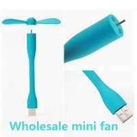 Multi-Function Micro USB Fan para Celular Power Mobile Phone Fan Cool Cooler Para Android e iPhone DHL grátis