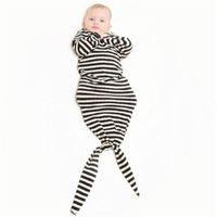 ropa de cama cuna acolchada al por mayor-DHL Mantas de bebé Bolsa de dormir 1-2 años Sirena Bolsa de dormir bebé Swaddle Manta de dormir Verano Swaddle Sobres para recién nacidos 6 estilo Elija