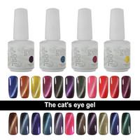 Wholesale Magnetic Soak Off Gel Polish - IDO Gelish 15ml Soak Off UV LED Gel Nail Polish Magnetic Gel 24 Colors Cat Eye Gel