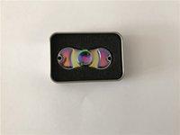 tri cobre venda por atacado-2017 Novo Cobre Tri-Spinner Fidgets Brinquedo De Cobre EDC Sensorial Fidget Spinner Para O Autismo e TDAH Crianças / Adulto Engraçado Anti Stress brinquedos