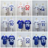Wholesale Boys 14 Shirt - Youth Toronto Blue Jays Jerseys 20 Josh Donaldson 14 David Price 2 Troy Tulowitzki 11 Kevin Pillar 17 Ryan Goins 19 Jose Bautista Kids Shirt