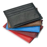 Wholesale bank animal - Hot selling High quality 100% real leather magic wallets fashion designer men bank card holder retail and wholesale