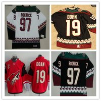 e97229b3c 2017 Arizona Coyotes 19 Shane Doan Red White Mens Black Classic CCM  Throwback Vintage Blank 97 Jeremy Roenick Hockey Jerseys Cheap ...