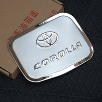 Wholesale Toyota Corolla Stainless Steel Fuel Tank Cover Decorative Trim Car Styling Fuel Tank Cap Decorative Cover for Corolla AT3295