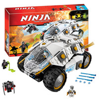 Wholesale Decool Ninja - Bela 10523 Titanium Ninja Tumbler Blocks Brick Toys Set Boy Game Compatible with Decool Lepin 70588