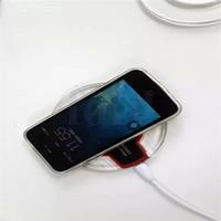 nexo iphone al por mayor-Cargador inalámbrico caliente Qi Mini Pad de carga Adaptador universal para teléfono móvil para Samsung S7 S6 Edge iphone 6 6plus Google Nexus 4 5 6 7