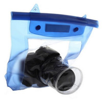 Wholesale Dslr Camera Housing - Wholesale- Hot Sale 20M Waterproof DSLR SLR Digital Camera Outdoor Underwater Housing Case Pouch Dry Bag For Canon For Nikon Hot Selling
