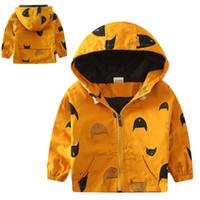 Wholesale Boys Rain Jacket - Wholesale- 2016 New Arrive Autumn Cute UK Kids Boys Children Stormbeak Waterproof Jacket Rain Coat Windbreaker Clothes
