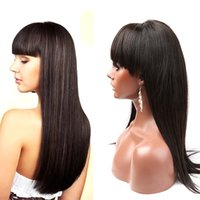 Wholesale Glueless Remy Wigs - 100% human remy lace front wigs drown hairline raw virgin Peruvian hair glueless full lace wigs greatremy factory cute and fashionable