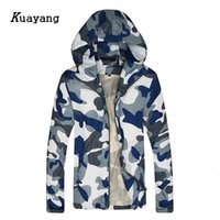 Wholesale Thin Jackets For Sale - Wholesale- 2017 Hot sale Casual Camouflage Men Jacket Fashion Thin Coat jacket For Spring Autumn veste homme jaqueta masculina FLD0054