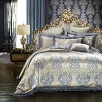 Wholesale Discount Bedding Quilts - Silk duvet cover Kings cute bedding set chelsea bedding luxury satin tencel quilt cover set discounted queen king size bed set hoe sale 5813