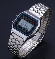 Wholesale Fashion For Friends - 2018 electronic watch Ultra-thin Gold Cold LED This is a good present for your children Men and relatives and friends who you love