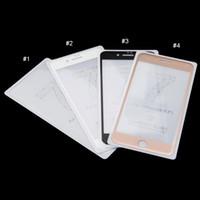 iphone 4.7 5.5 protetor de tela venda por atacado-Cobertura completa 3D Protetores de Tela De Vidro Temperado Para iPhone7 / iPhone7 além de 4.7 polegadas e 5.5 polegadas Espessura 0.3mm Dureza 9 H com caixa de varejo 10 pc