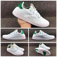 2017 New Nmd Human Race Shoes Pharrell Williams PW Boost Mulheres Homens Running Tennis HU Primeknit Shoes Sneakers Frete Grátis